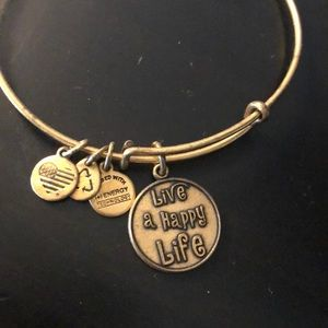 Alex and Ani - Live a happy life